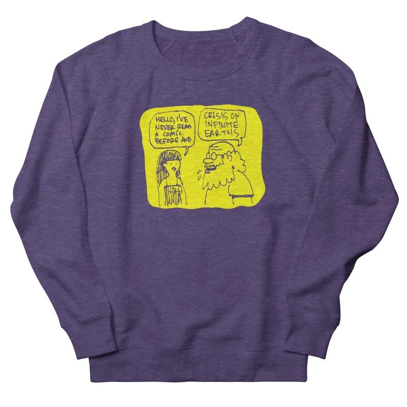 CRISIS ON INFINITE EARTHS #2 Men's Sweatshirt by Wander Lane Threadless Shop