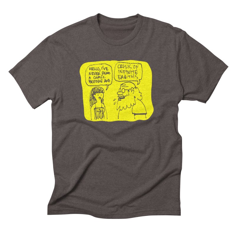 CRISIS ON INFINITE EARTHS #2 Men's Triblend T-Shirt by Wander Lane Threadless Shop