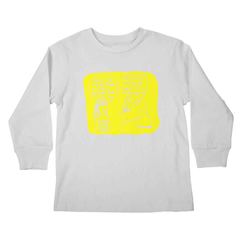 CRISIS ON INFINITE EARTHS #2 Kids Longsleeve T-Shirt by Wander Lane Threadless Shop