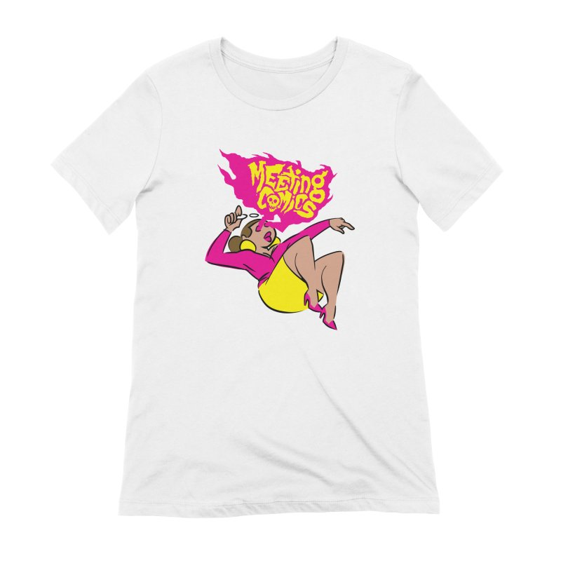 Meeting Comics: Val Women's Extra Soft T-Shirt by Wander Lane Threadless Shop