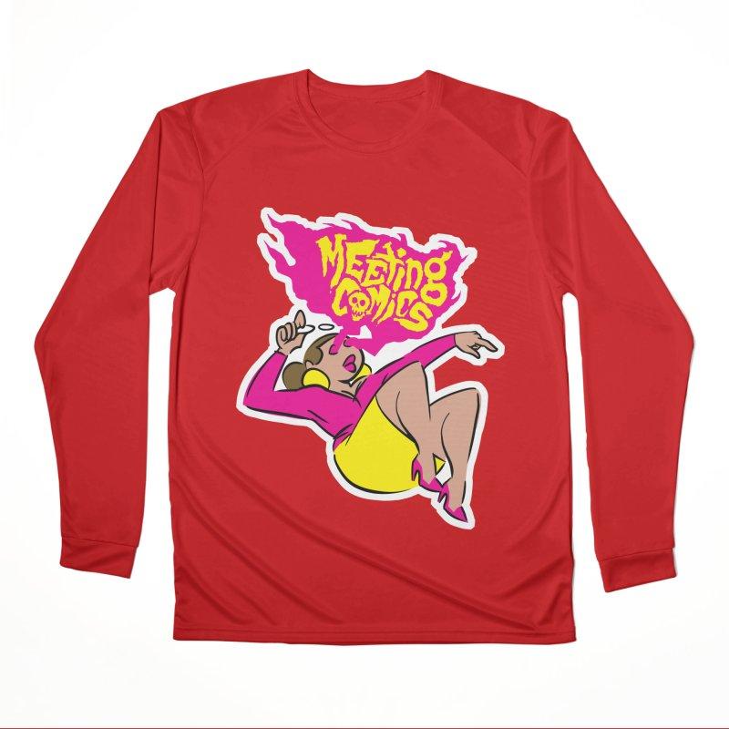 Meeting Comics: Val Women's Performance Unisex Longsleeve T-Shirt by Wander Lane Threadless Shop