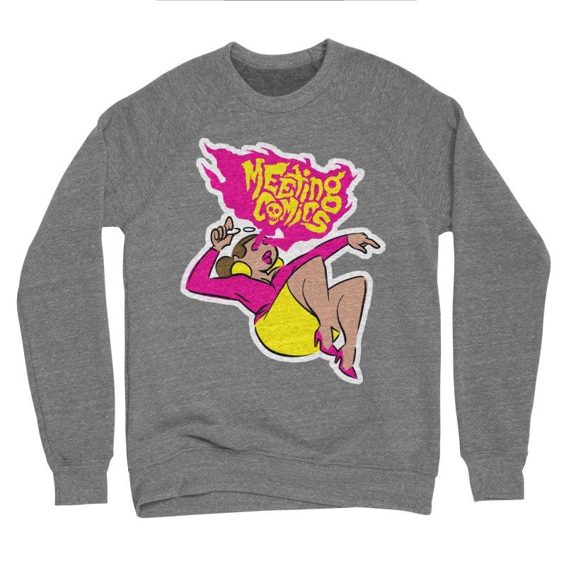 Meeting Comics: Val Men's Sponge Fleece Sweatshirt by Wander Lane Threadless Shop