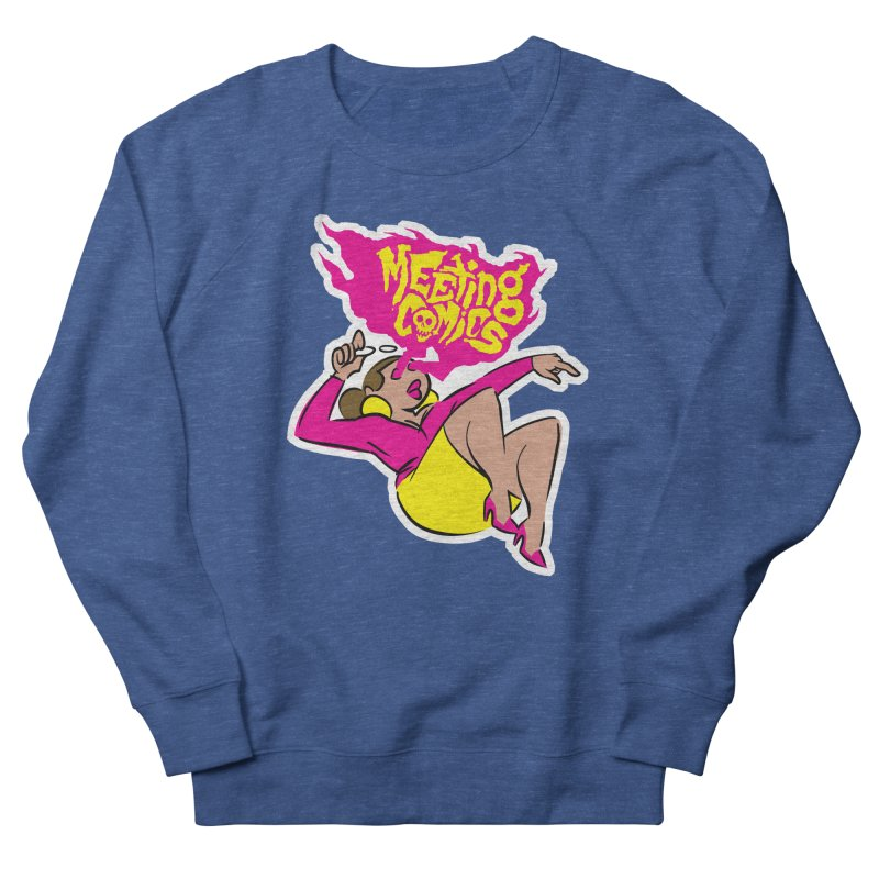 Meeting Comics: Val Men's Sweatshirt by Wander Lane Threadless Shop