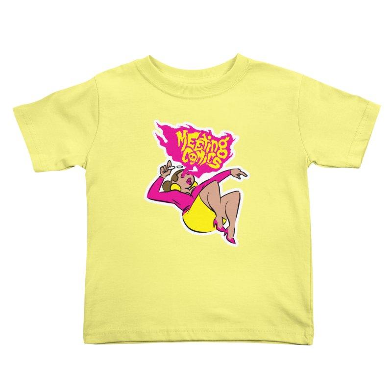 Meeting Comics: Val Kids Toddler T-Shirt by Wander Lane Threadless Shop