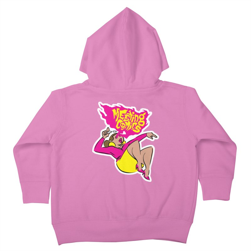 Meeting Comics: Val Kids Toddler Zip-Up Hoody by Wander Lane Threadless Shop