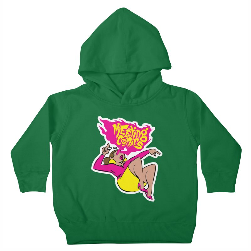 Meeting Comics: Val Kids Toddler Pullover Hoody by Wander Lane Threadless Shop