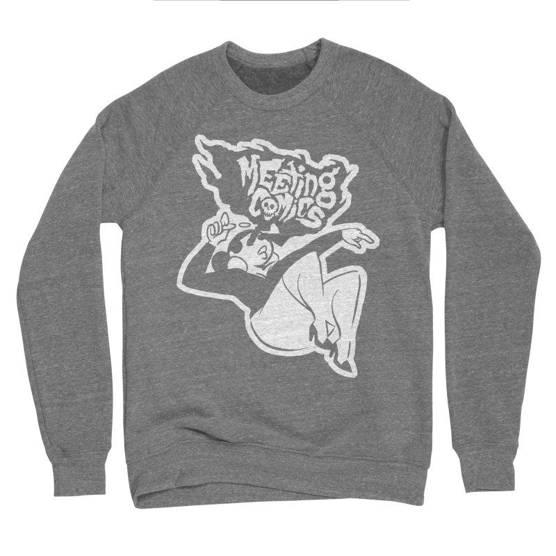 Meeting Comics: Val Single Color Print Women's Sponge Fleece Sweatshirt by Wander Lane Threadless Shop