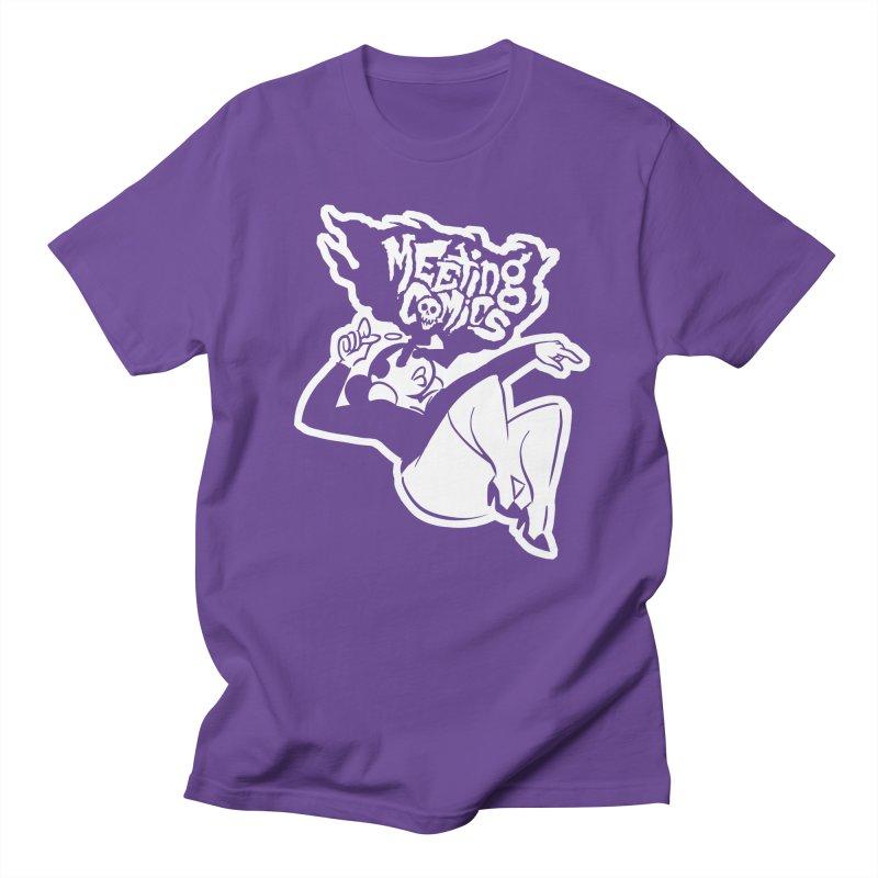 Meeting Comics: Val Single Color Print Women's Regular Unisex T-Shirt by Wander Lane Threadless Shop