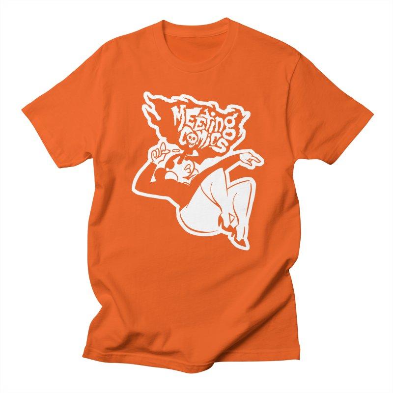 Meeting Comics: Val Single Color Print Men's Regular T-Shirt by Wander Lane Threadless Shop