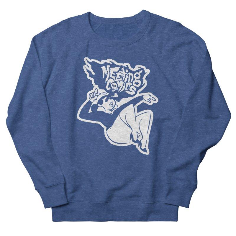 Meeting Comics: Val Single Color Print Men's French Terry Sweatshirt by Wander Lane Threadless Shop