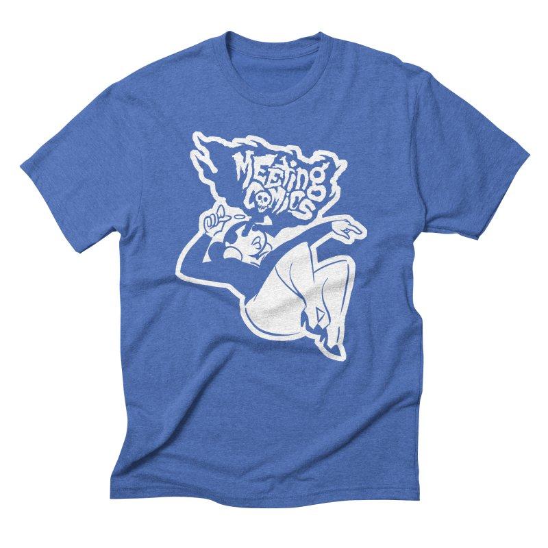Meeting Comics: Val Single Color Print Men's Triblend T-Shirt by Wander Lane Threadless Shop