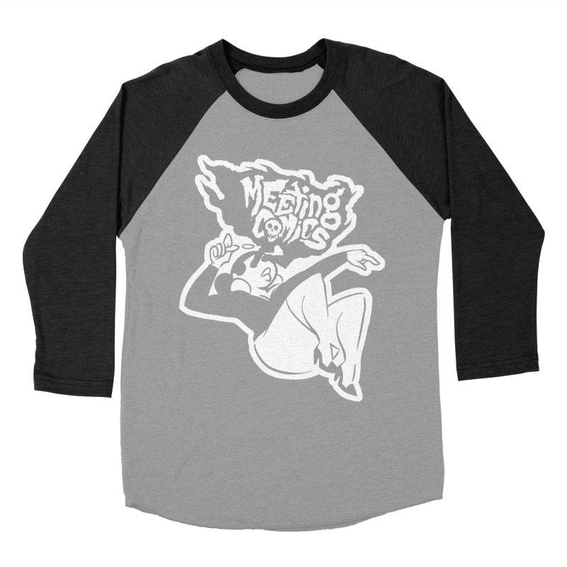 Meeting Comics: Val Single Color Print Women's Baseball Triblend Longsleeve T-Shirt by Wander Lane Threadless Shop
