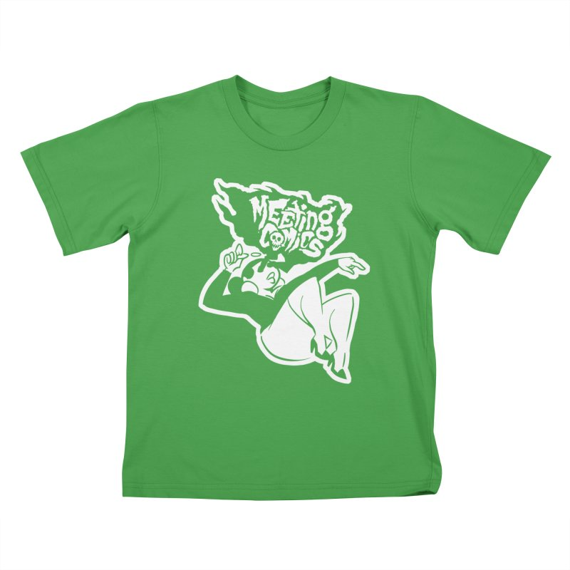 Meeting Comics: Val Single Color Print Kids T-Shirt by Wander Lane Threadless Shop