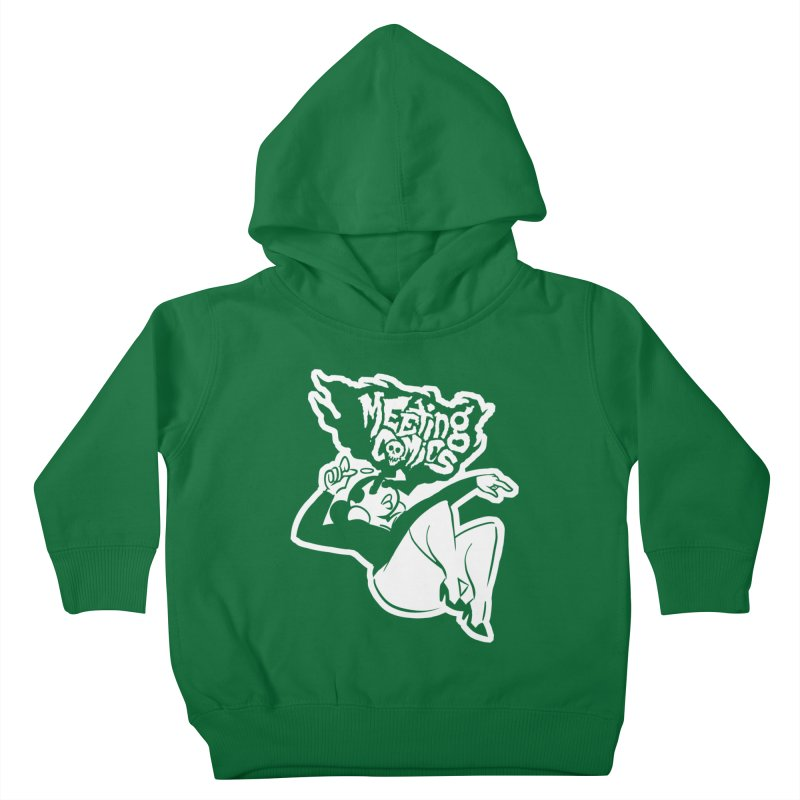 Meeting Comics: Val Single Color Print Kids Toddler Pullover Hoody by Wander Lane Threadless Shop