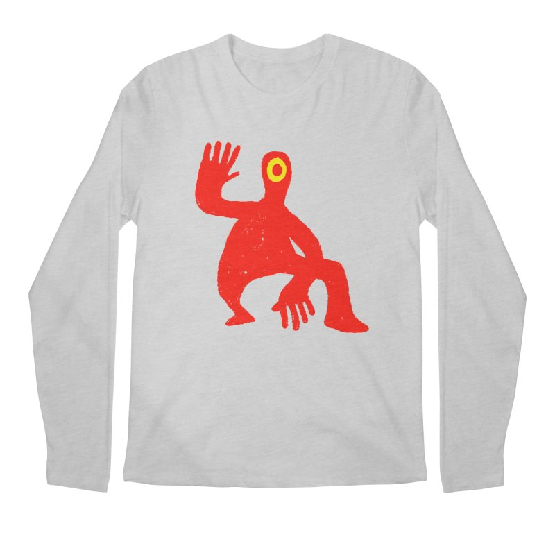 Pleased to Meet You Men's Regular Longsleeve T-Shirt by Wander Lane Threadless Shop