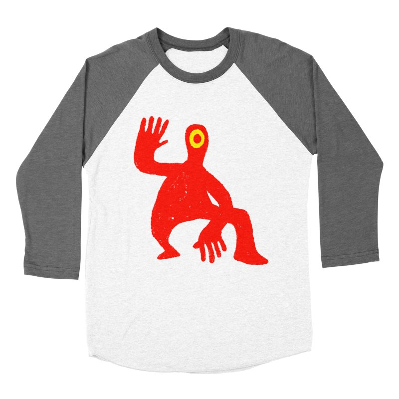 Pleased to Meet You Women's Baseball Triblend Longsleeve T-Shirt by Wander Lane Threadless Shop