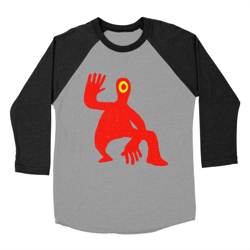 Pleased to Meet You Men's Baseball Triblend Longsleeve T-Shirt by Wander Lane Threadless Shop