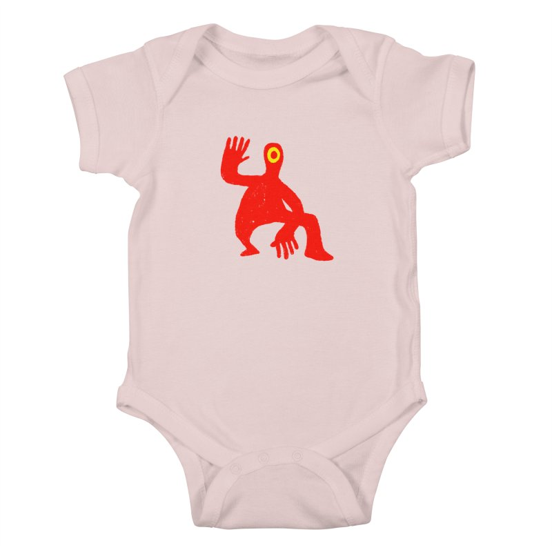 Pleased to Meet You Kids Baby Bodysuit by Wander Lane Threadless Shop