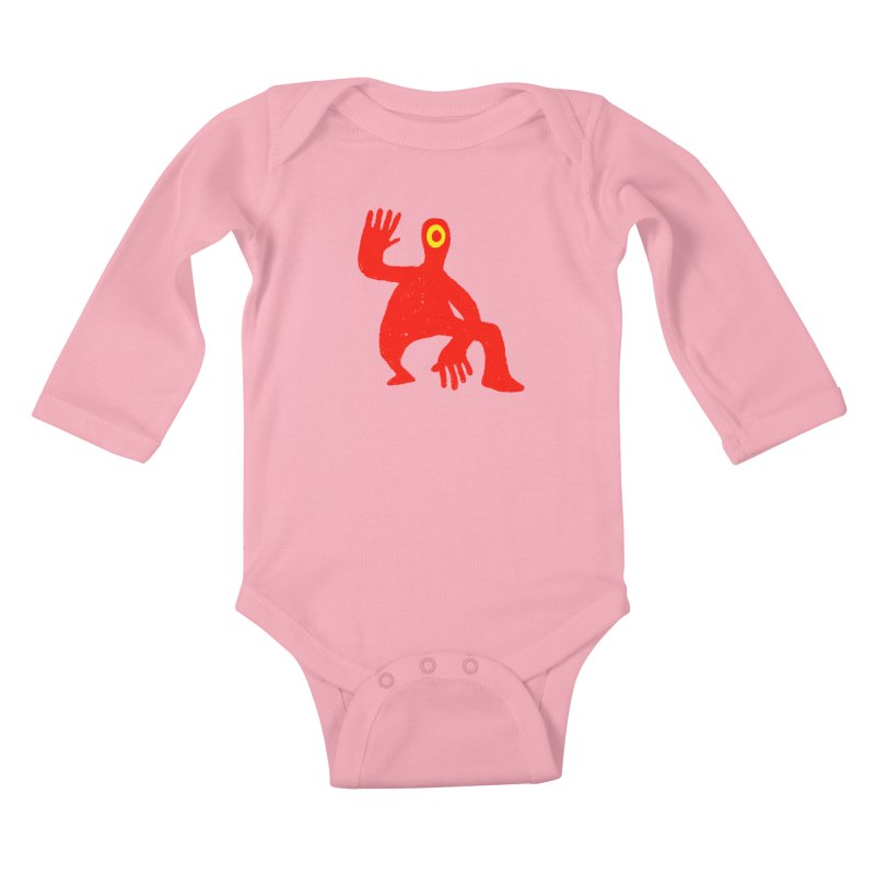 Pleased to Meet You Kids Baby Longsleeve Bodysuit by Wander Lane Threadless Shop