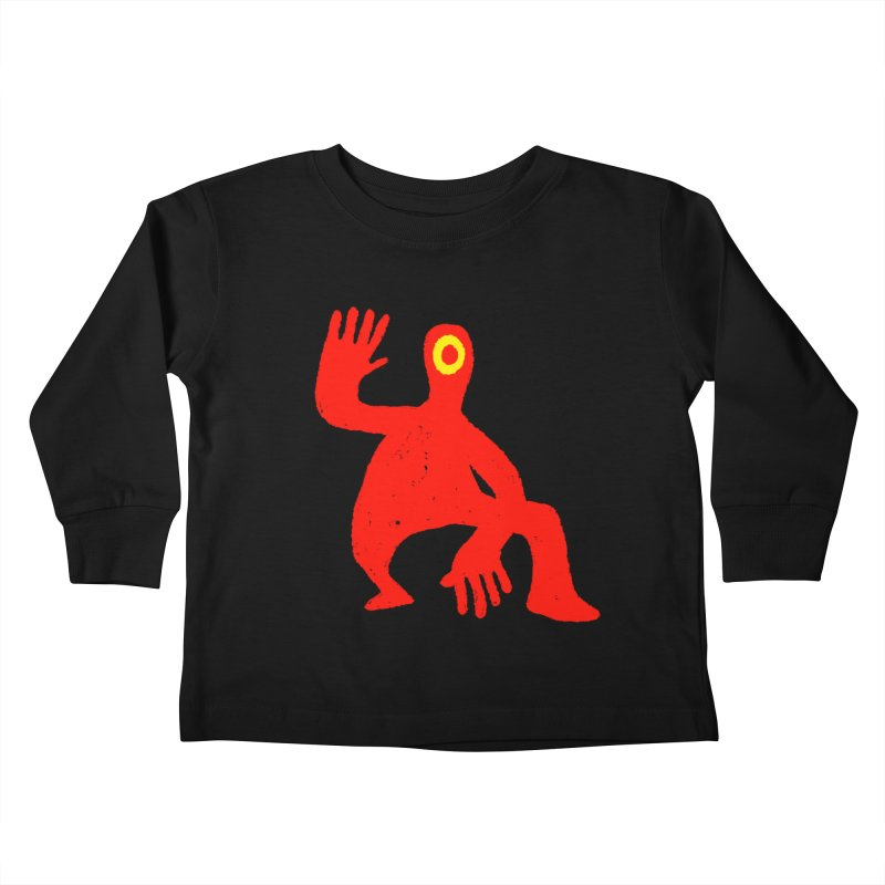 Pleased to Meet You Kids Toddler Longsleeve T-Shirt by Wander Lane Threadless Shop