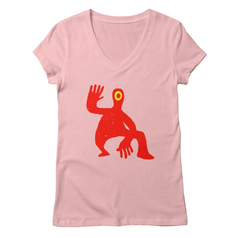 Pleased to Meet You Women's Regular V-Neck by Wander Lane Threadless Shop