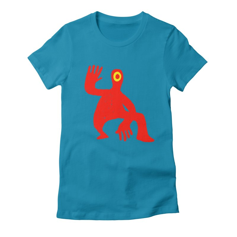 Pleased to Meet You Women's Fitted T-Shirt by Wander Lane Threadless Shop