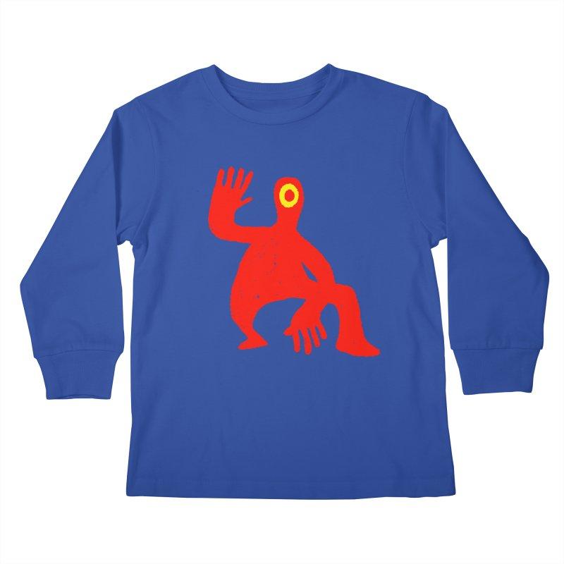 Pleased to Meet You Kids Longsleeve T-Shirt by Wander Lane Threadless Shop