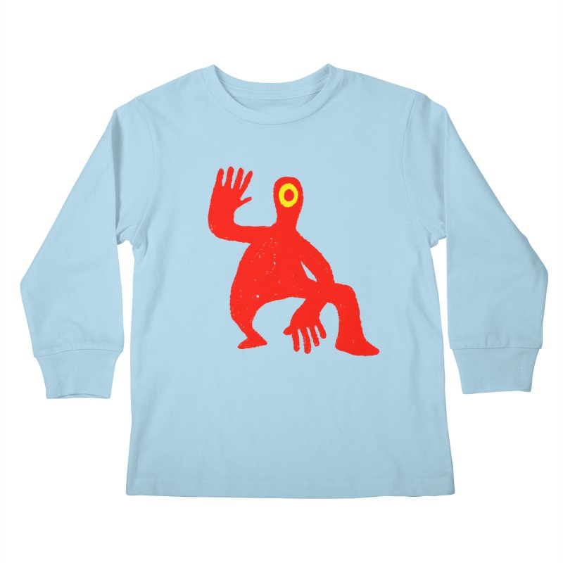 Pleased to Meet You Kids Longsleeve T-Shirt by Wander Lane Threadless Shop