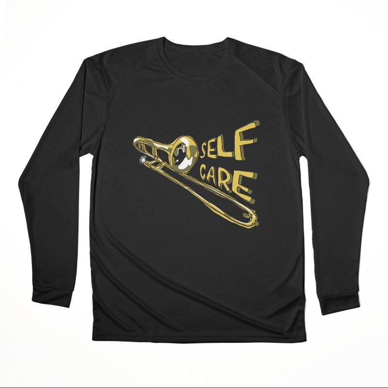 SELF CARE Women's Performance Unisex Longsleeve T-Shirt by Wander Lane Threadless Shop