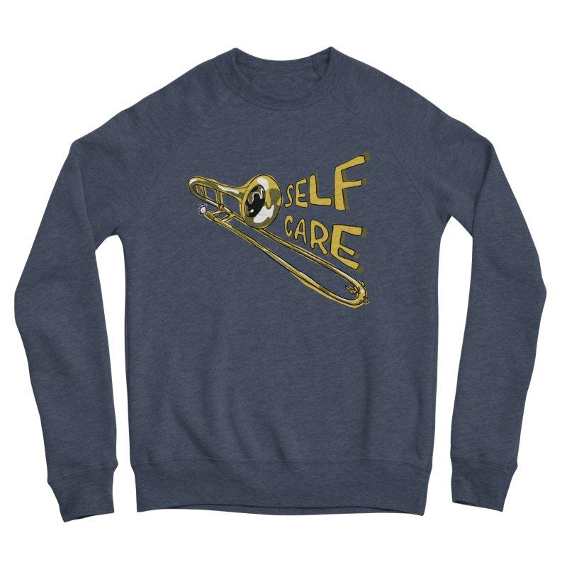 SELF CARE Women's Sponge Fleece Sweatshirt by Wander Lane Threadless Shop
