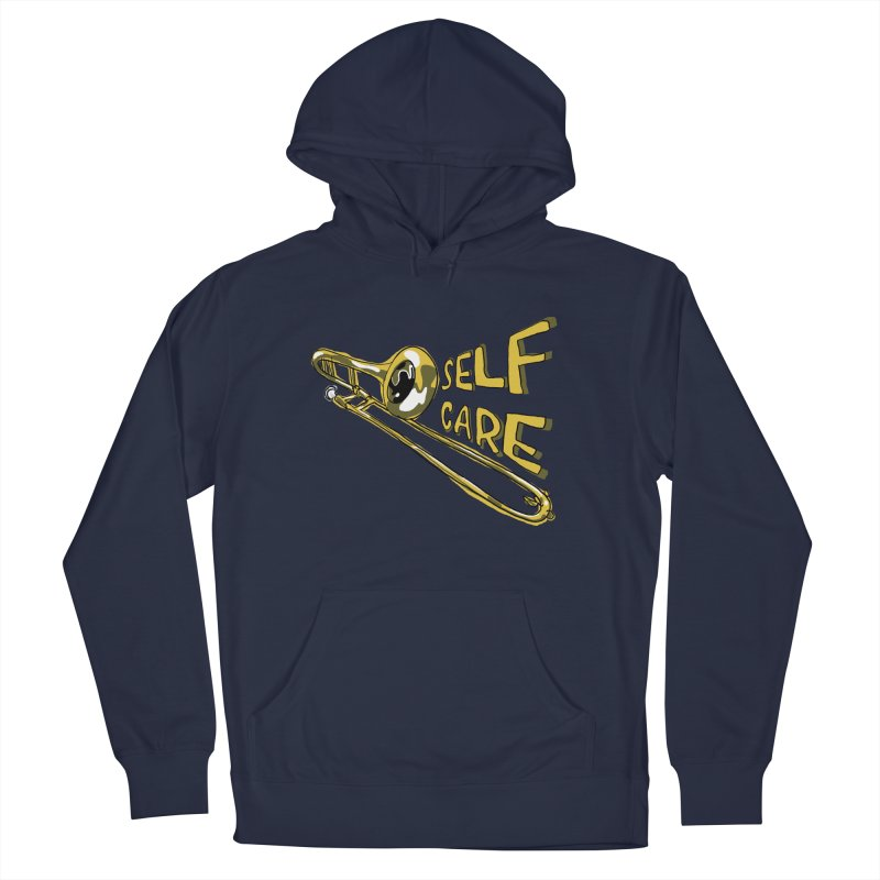 SELF CARE Women's French Terry Pullover Hoody by Wander Lane Threadless Shop