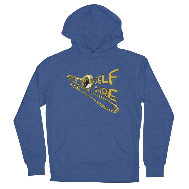 SELF CARE Men's French Terry Pullover Hoody by Wander Lane Threadless Shop