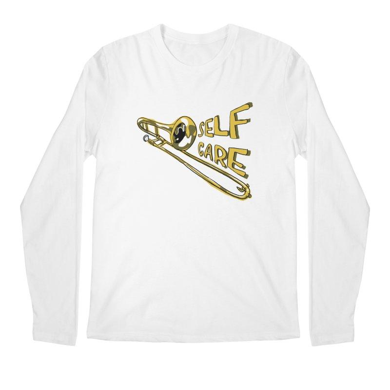 SELF CARE Men's Regular Longsleeve T-Shirt by Wander Lane Threadless Shop
