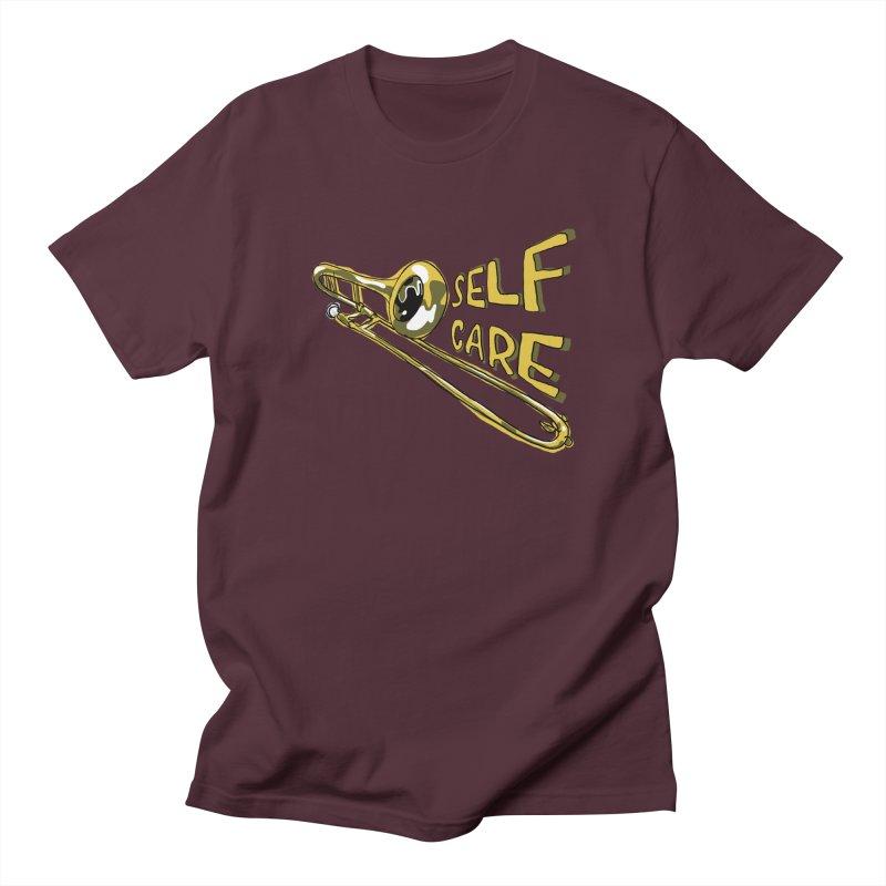 SELF CARE Women's Regular Unisex T-Shirt by Wander Lane Threadless Shop