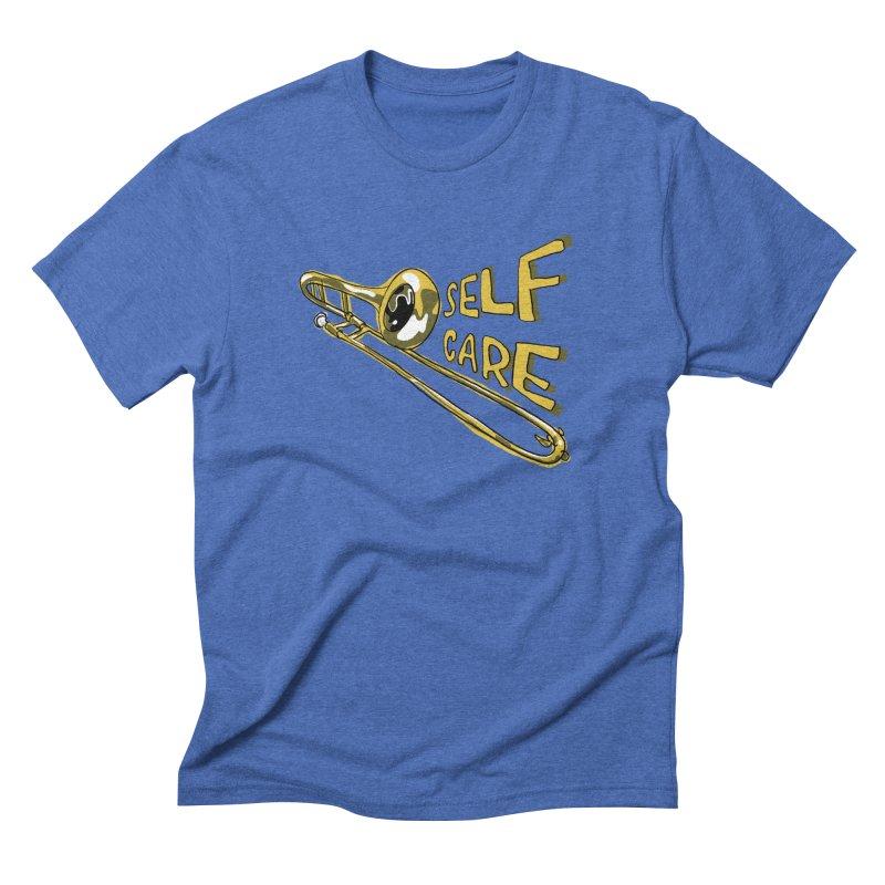 SELF CARE Men's Triblend T-Shirt by Wander Lane Threadless Shop