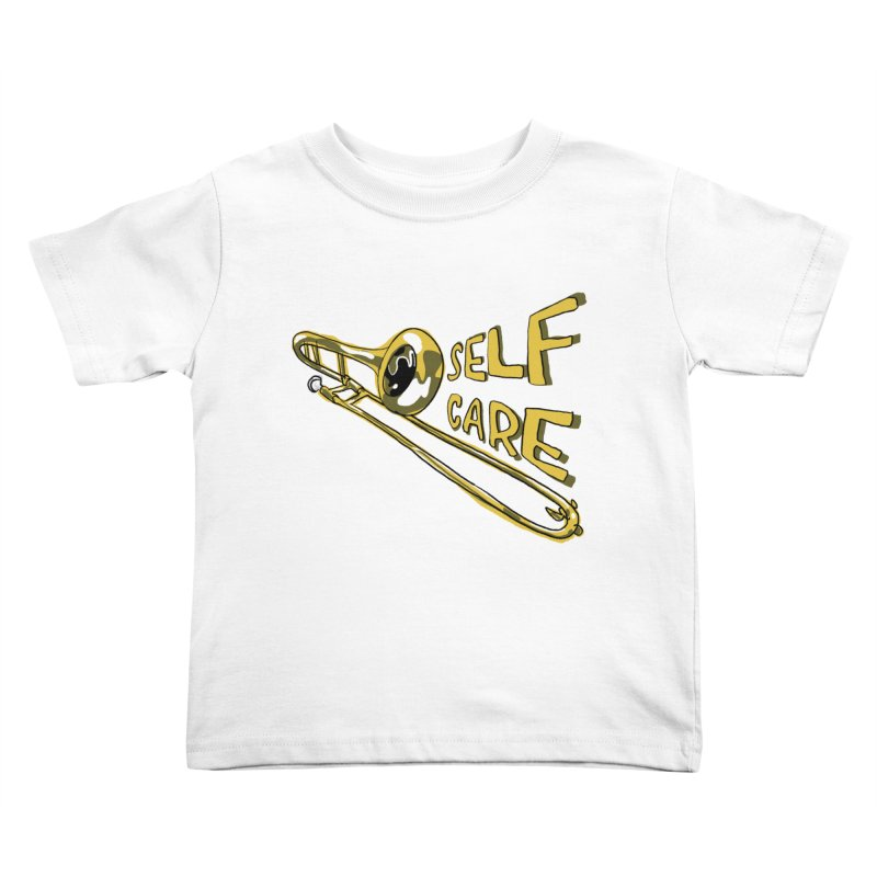 SELF CARE Kids Toddler T-Shirt by Wander Lane Threadless Shop