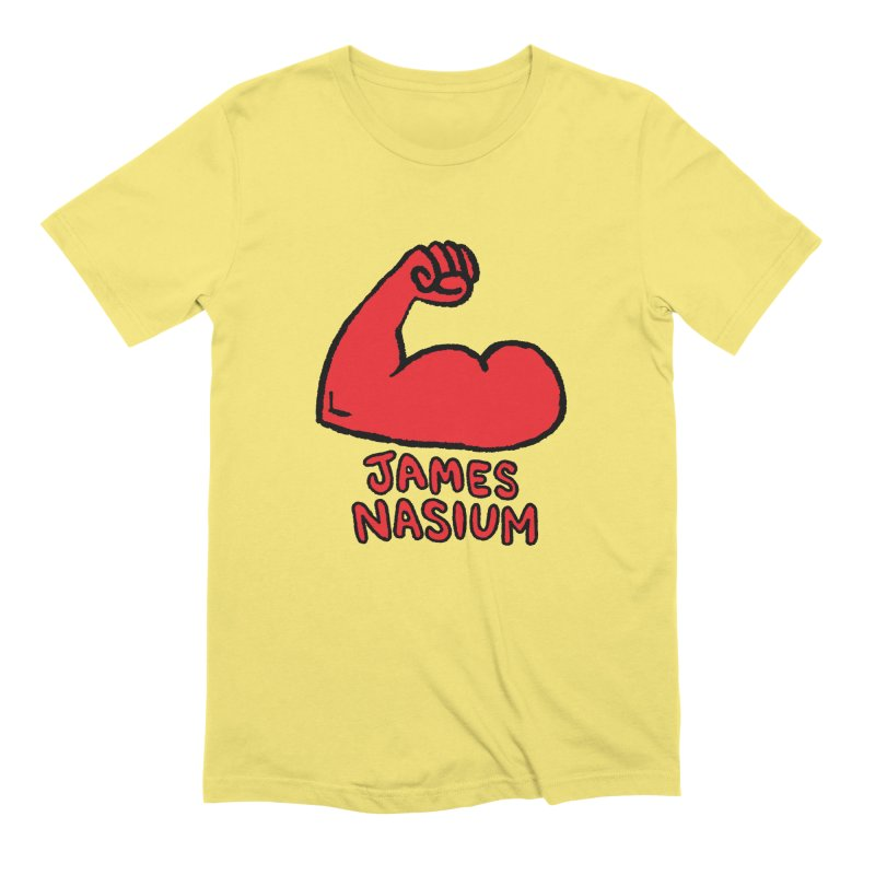 James Nasium Red Men's Extra Soft T-Shirt by Wander Lane Threadless Shop