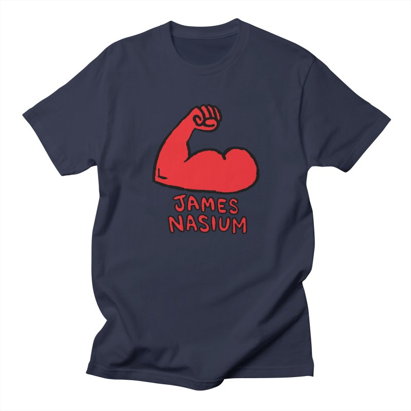 James Nasium Red Men's Regular T-Shirt by Wander Lane Threadless Shop