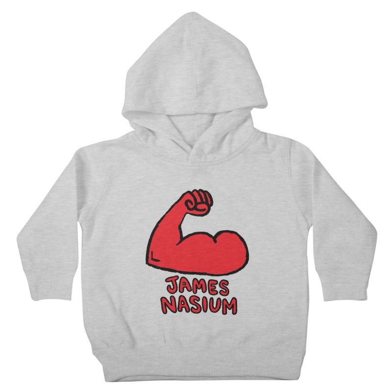 James Nasium Red Kids Toddler Pullover Hoody by Wander Lane Threadless Shop