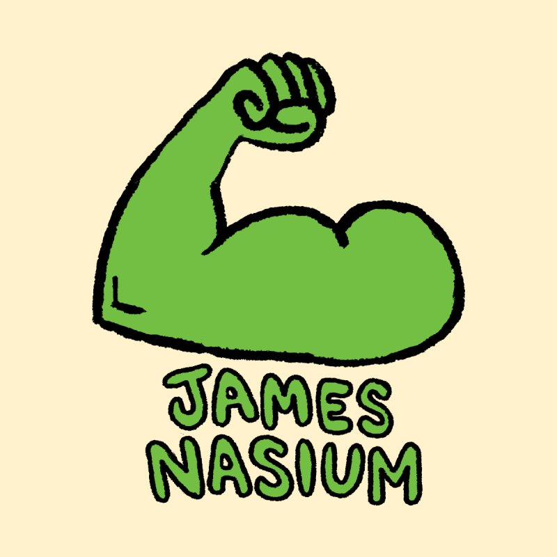 James Nasium Green by Wander Lane Threadless Shop