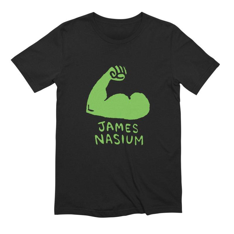 James Nasium Green Men's Extra Soft T-Shirt by Wander Lane Threadless Shop