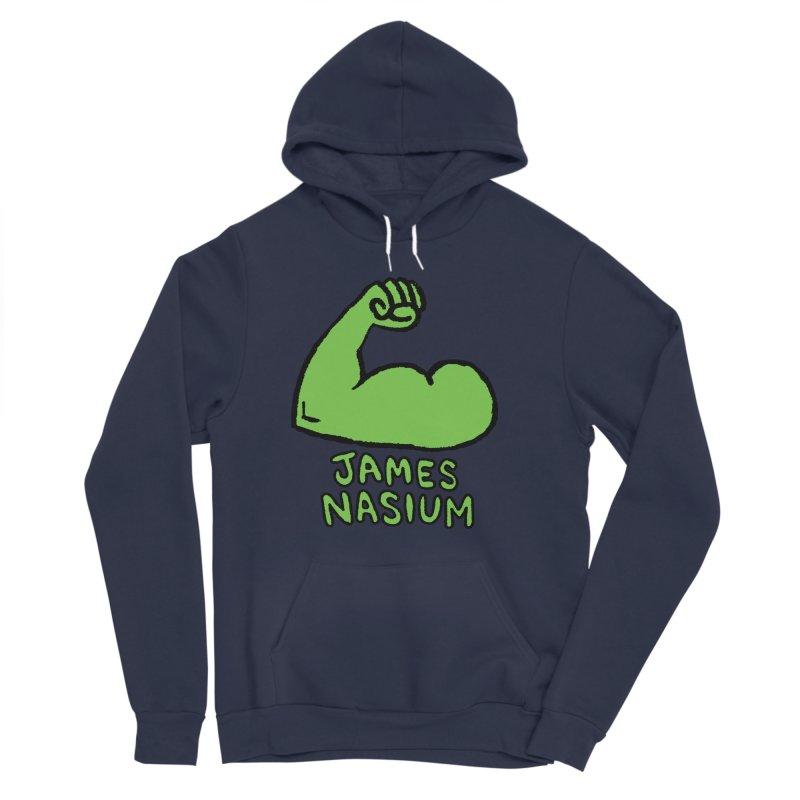 James Nasium Green Men's Sponge Fleece Pullover Hoody by Wander Lane Threadless Shop