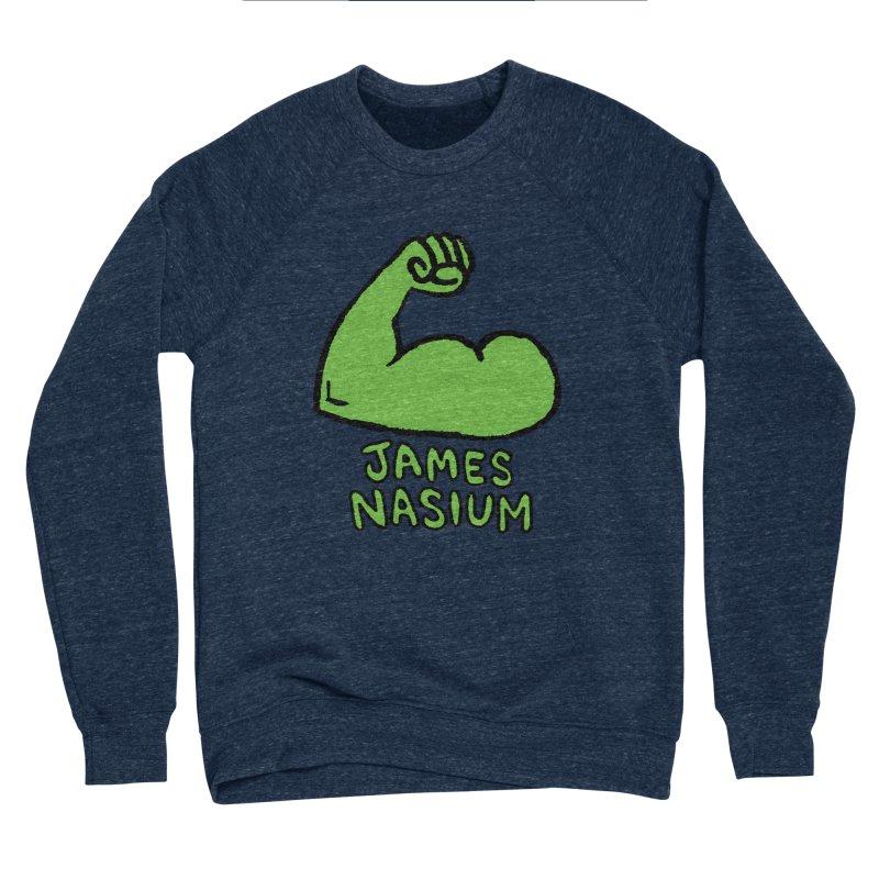 James Nasium Green Women's Sponge Fleece Sweatshirt by Wander Lane Threadless Shop