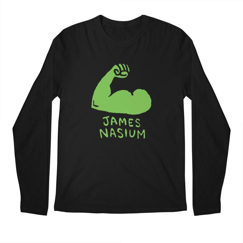 James Nasium Green Men's Regular Longsleeve T-Shirt by Wander Lane Threadless Shop