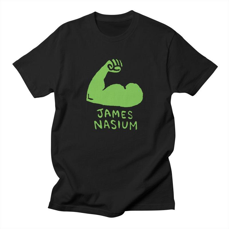 James Nasium Green Women's Regular Unisex T-Shirt by Wander Lane Threadless Shop