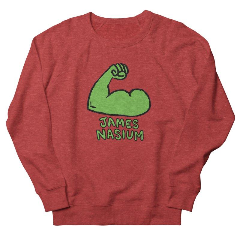 James Nasium Green Men's French Terry Sweatshirt by Wander Lane Threadless Shop
