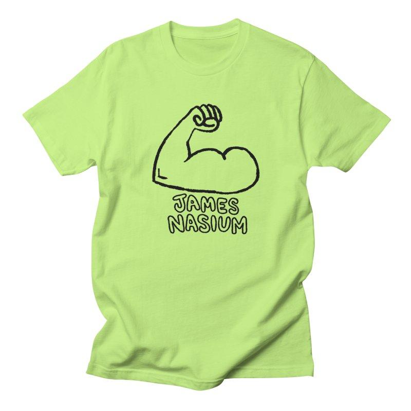 James Nasium Line Art Women's Regular Unisex T-Shirt by Wander Lane Threadless Shop