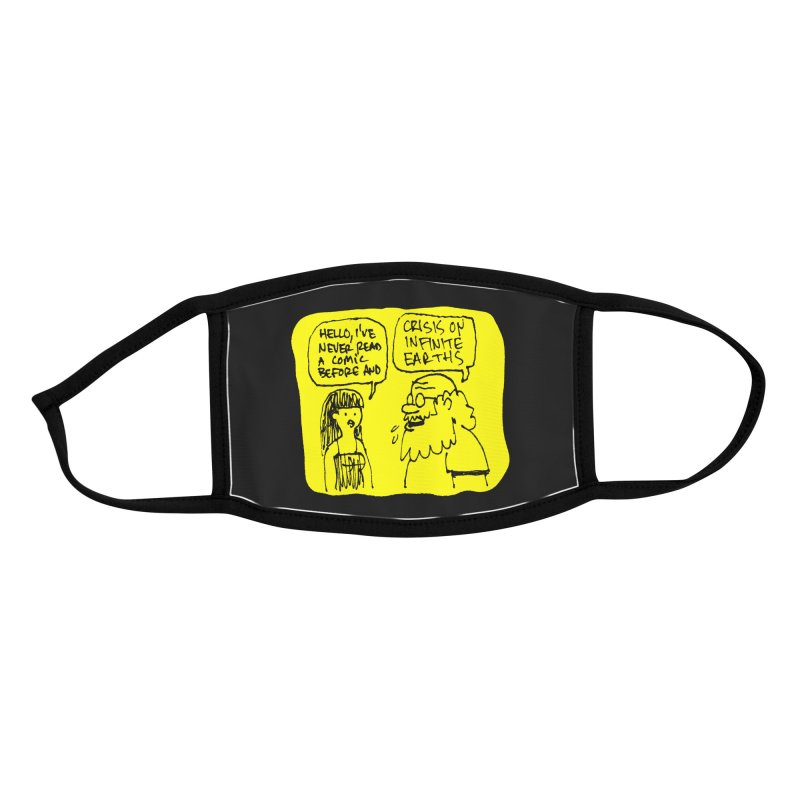 Crisis Accessories Face Mask by Wander Lane Threadless Shop