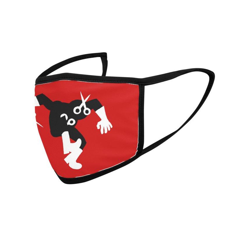 Meeting Comics: Ribbon Cutter Thomas Accessories Face Mask by Wander Lane Threadless Shop