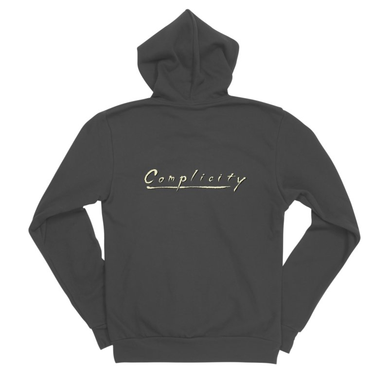 Complicity Men's Sponge Fleece Zip-Up Hoody by Wander Lane Threadless Shop